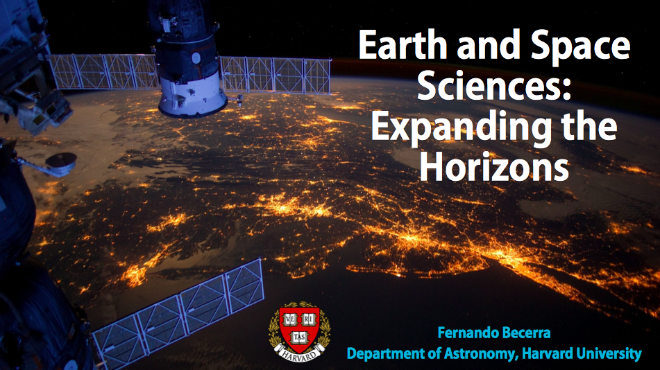 Earth and Space Sciences: Expanding the Horizons