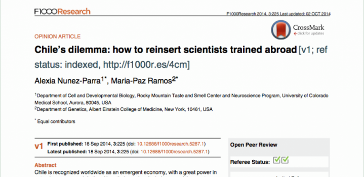 Chile's dilemma: how to reinsert scientists trained abroad.